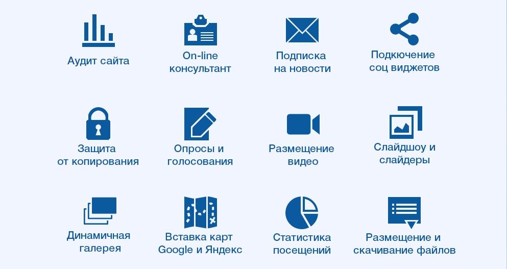 31 бесплатная услуга веб-студии UpSales